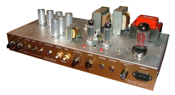 Boutique Guitar Amplifiers Designed For Custom Guitar